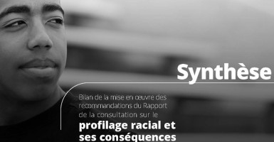 Review of implementation of the Recommendations issued in the Report of the Consultation on Racial Profiling and its Consequences: Summary